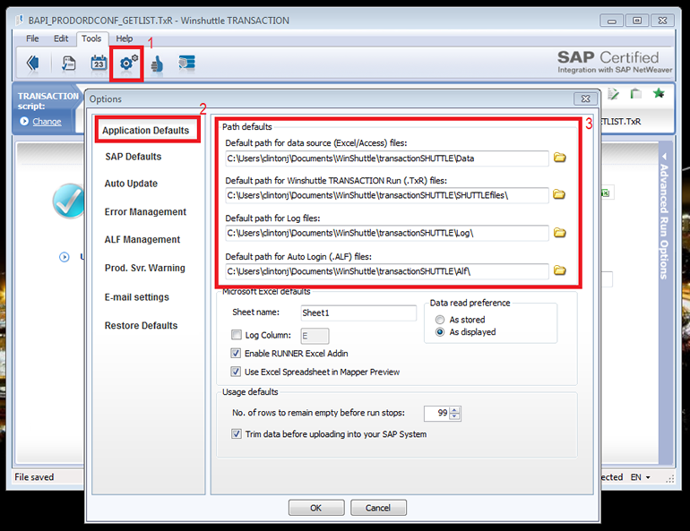 Best Practices when working with Winshuttle Transaction