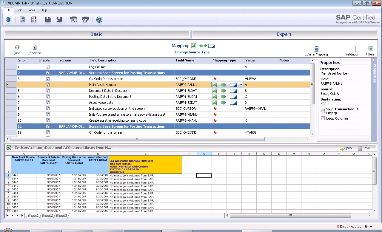 SAP ABUMN | Automate SAP Asset Transfers | Winshuttle Software