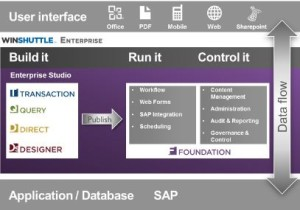 Winshuttle Foundation enhances your SAP environment with a core capabilities aimed at maximizing the return on your existing investment in SAP.