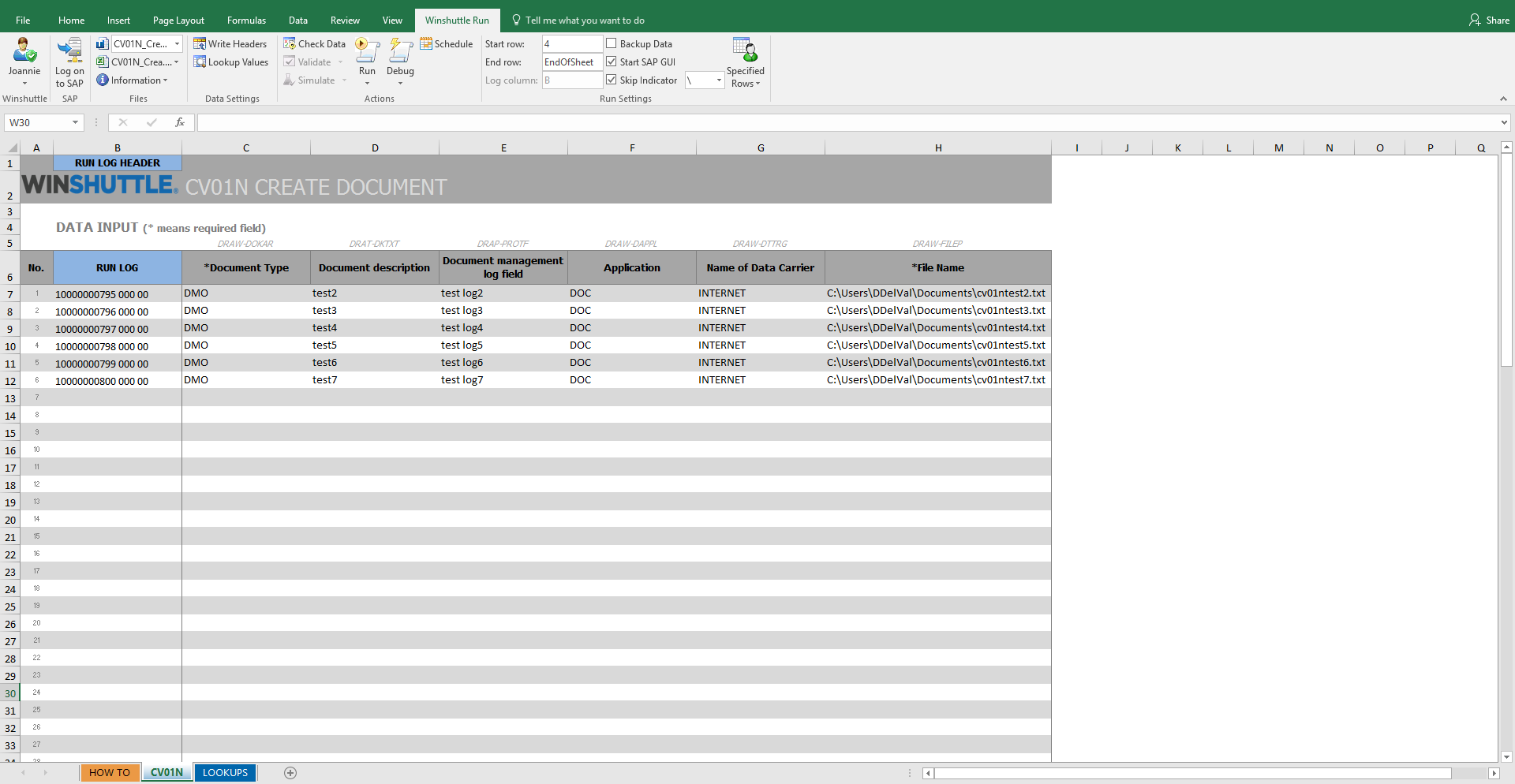 Create document winshuttle software use this winshuttle studio 11 template to create documents and upload files to the sap document management system maxwellsz